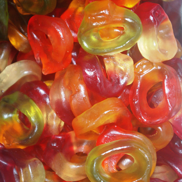 Friendship Rings : 200g - Fruit Flavour Jellies