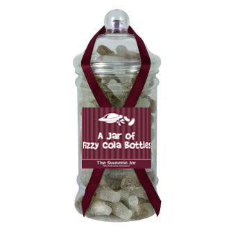 Victorian Jar of Fizzy Cola Bottles - Sour Gums with Cola Flavour
