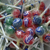 Tongue Painter Lollipops : x15  - Assorted fruit flavoured lollipops