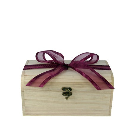 Liquorice Sweets Wooden Chest : Medium - A liquorice sweets mix that a liquorice lover would adore!