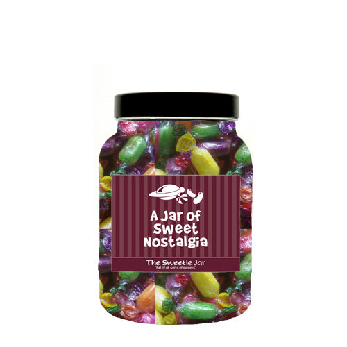 Sherbet Fruits Sweet Jars - Gift Jars In 4 Sizes