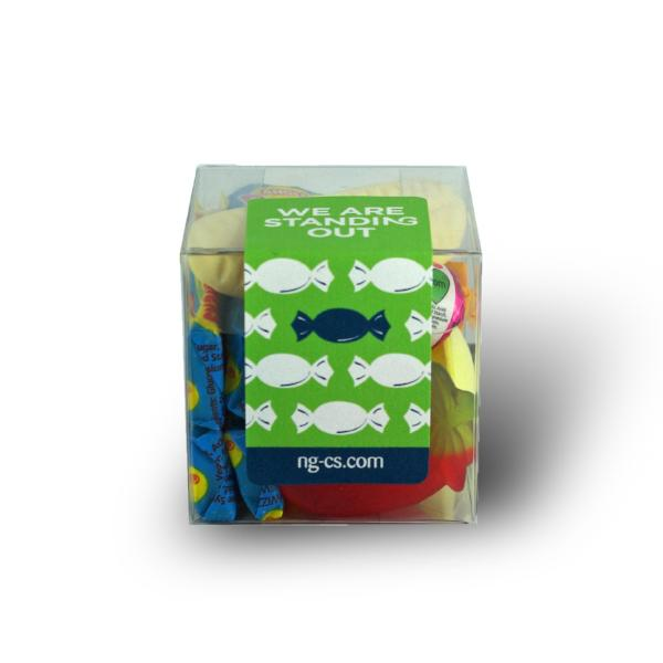 Personalised Sweets Cube : Medium - Create your own sweet cubes for your big Party or Event