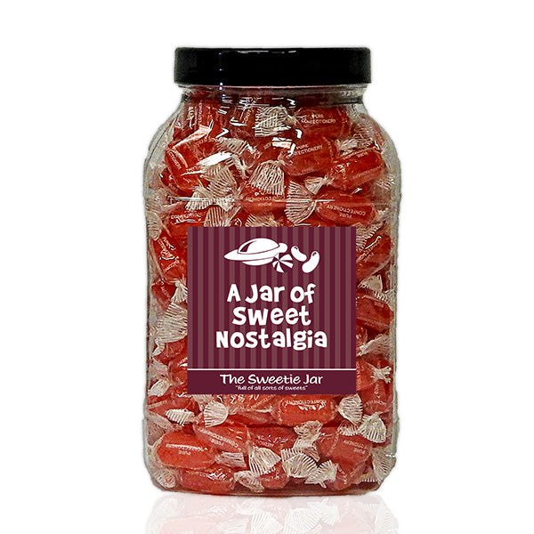 A Large Jar of Aniseed Twist - Aniseed Flavour Hard Boiled Sweets