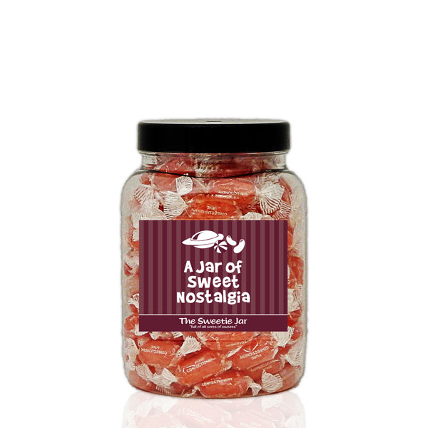 A Medium Jar of Aniseed Twist - Aniseed Flavour Hard Boiled Sweets