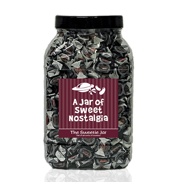 A Large Jar of Black Jack Chews - Aniseed Flavour Chews