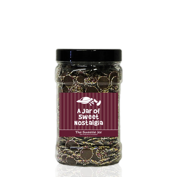 A Small Jar of Jazzies - Milk Chocolate Flavour Candy with Candy Topping