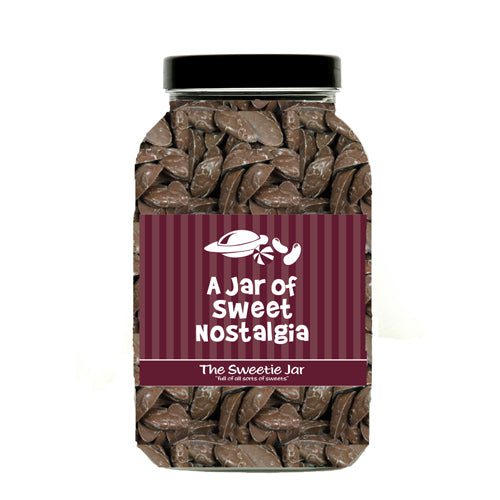 Brown Mice Sweet Jar : Large - Milk Chocolate Flavour Candy