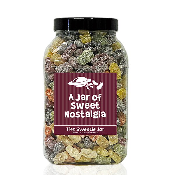 A Large Jar of Jelly Babies - Jars of Retro Sweets at The Sweetie Jar