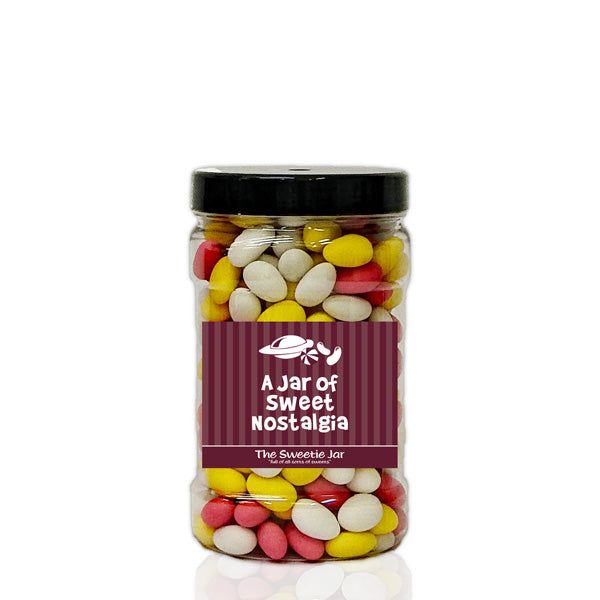 A Small Jar of Sugared Almonds - Retro Sweet Gift Jars at The Sweetie Jar