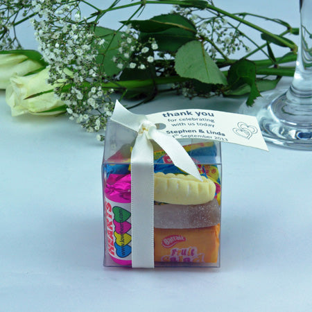Wedding Favour Cubes : Small - Unique wedding favours for your guests to enjoy
