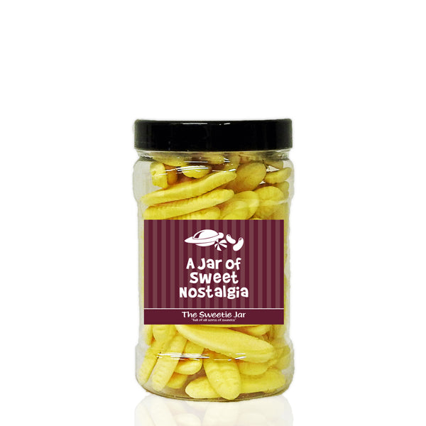 A Small Jar of Bumper Bananas - Retro Sweets at The Sweetie Jar