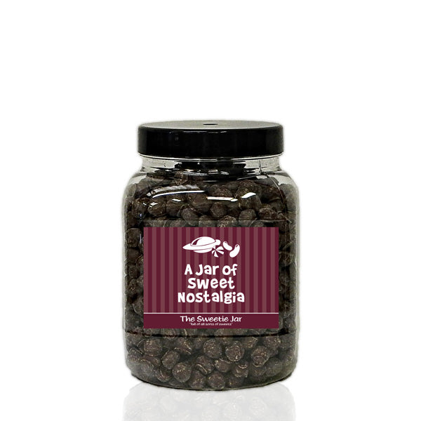 A Medium Jar of Chewing Nuts - Chewy Toffee in a Chocolate Flavoured Coating