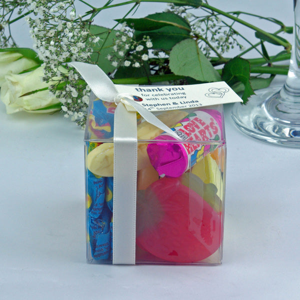 Wedding Favour Cubes : Large - Different and simply unforgettable