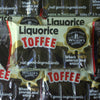 Liquorice Toffee Slabs : x2 - Whack THEN Unwrap and Enjoy x