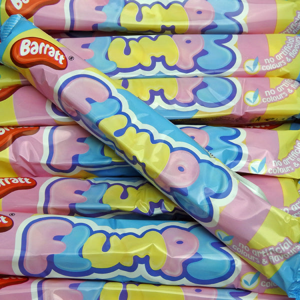 Flumps : x8  - Vanilla flavour fluffy mallow twist