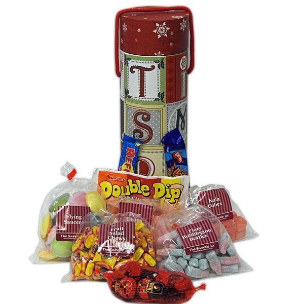 CHRISTMAS Sweets Tube - A tube of sweets with a difference!