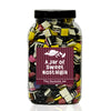 A Large Jar of Liquorice Allsorts - Retro Sweet Gift Jars at The Sweetie Jar
