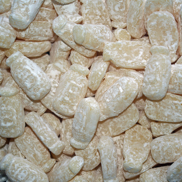 Milk Gums : 200g - Milk Bottle Shaped Dusted Gums