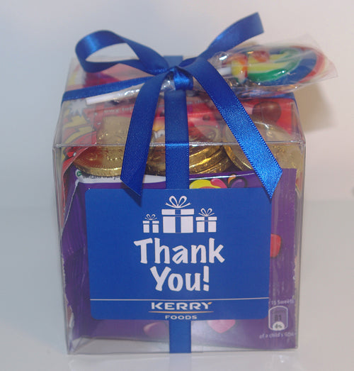 Personalised Retro Sweets Cube