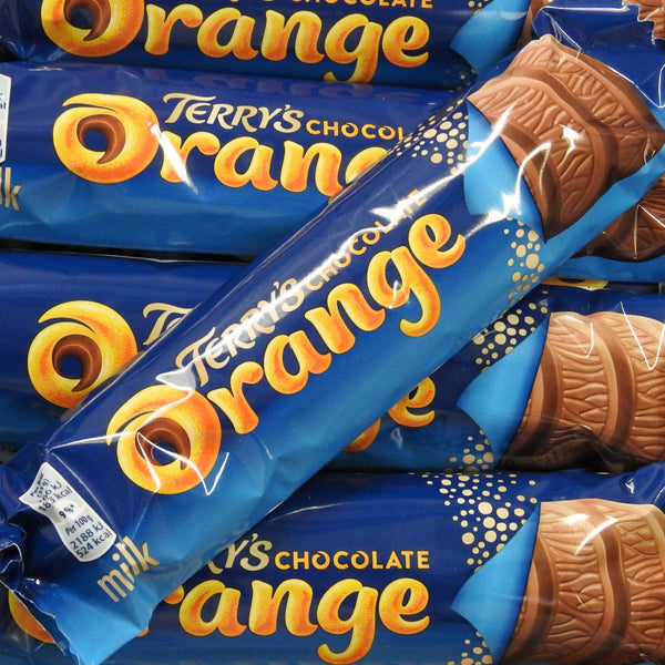 Terry's Chocolate Orange Bars at The Sweetie Jar