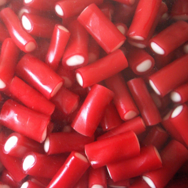 Mini Strawberry Pencils : 200g - Fruit Flavour Chewy Candy Sweets