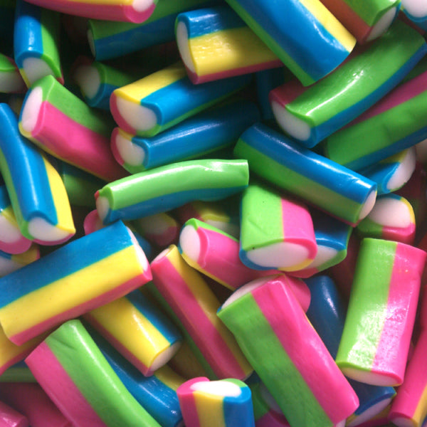 Mini Multi Coloured Pencils : 200g - Fruit Flavour Chewy Candy Sweets