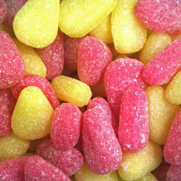 Pear Drops, Large : 200g - Pear Flavour Hard Boiled Sweets
