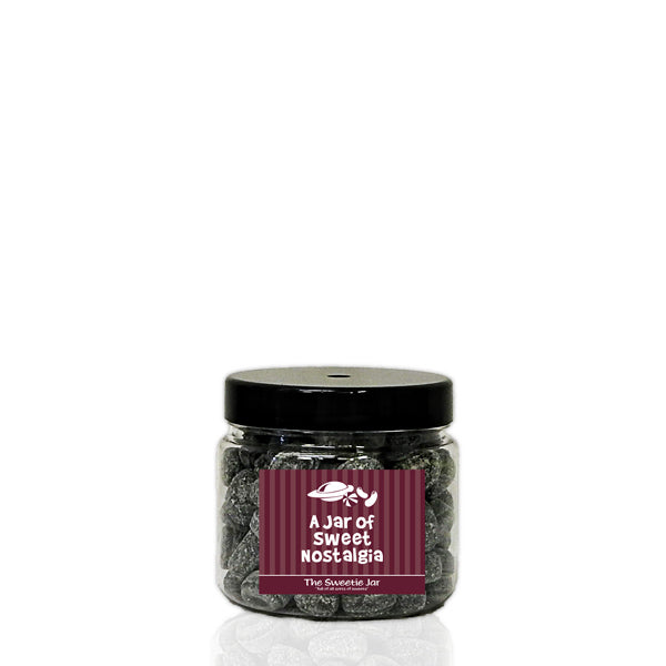 An XSmall Jar of Army and Navy - Aniseed, Liquorice & Paregoric Flavour Sweets