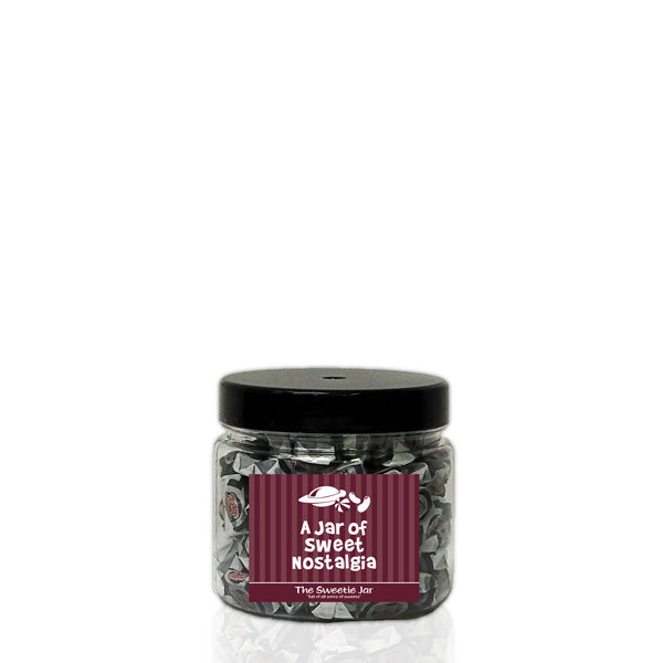 A XSmall Jar of Black Jack Chews - Retro Sweets Jars at The Sweetie Jar