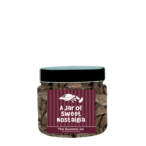 A Small Jar of Brown Mice - Milk Chocolate Flavour Candy