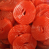 Cherry Wheels : 200g - Cherry flavour liquorice wheels