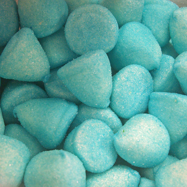Blue Paint Balls : 100g - Sugar Coated Marshmallows