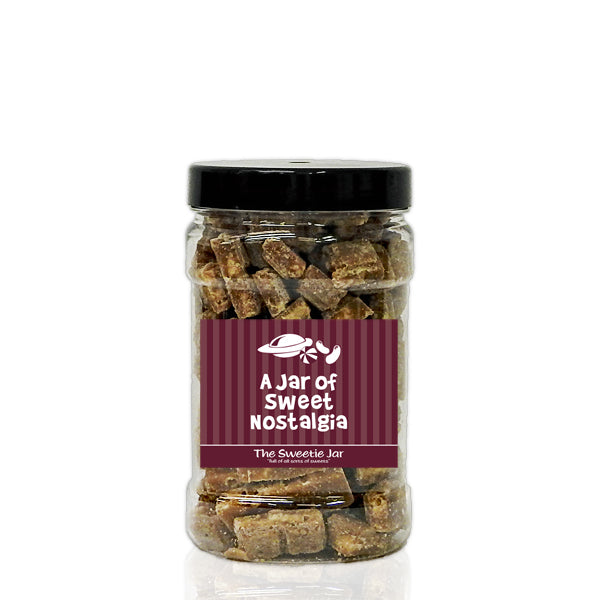 A Small Jar of Herbal Cough Candy - Herbal Cough Candy Flavour Sweets