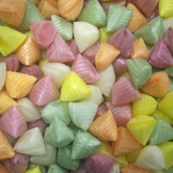 Scented Satins : 200g - Fruit Flavoured Hard Boiled Sweets