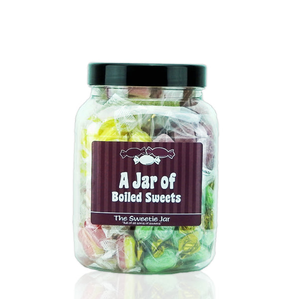 A Jar of Boiled Sweets - Full of Traditional Boiled Sweets, in 3 sizes