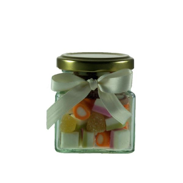 A Mini Jar of Dolly Mixtures - Retro Sweets at The Sweetie Jar