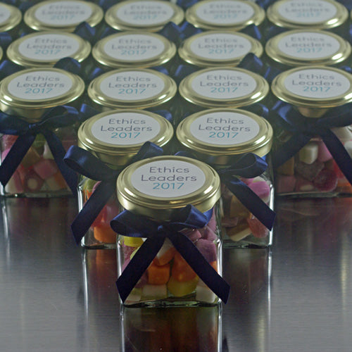 Personalised Mini Glass Jars