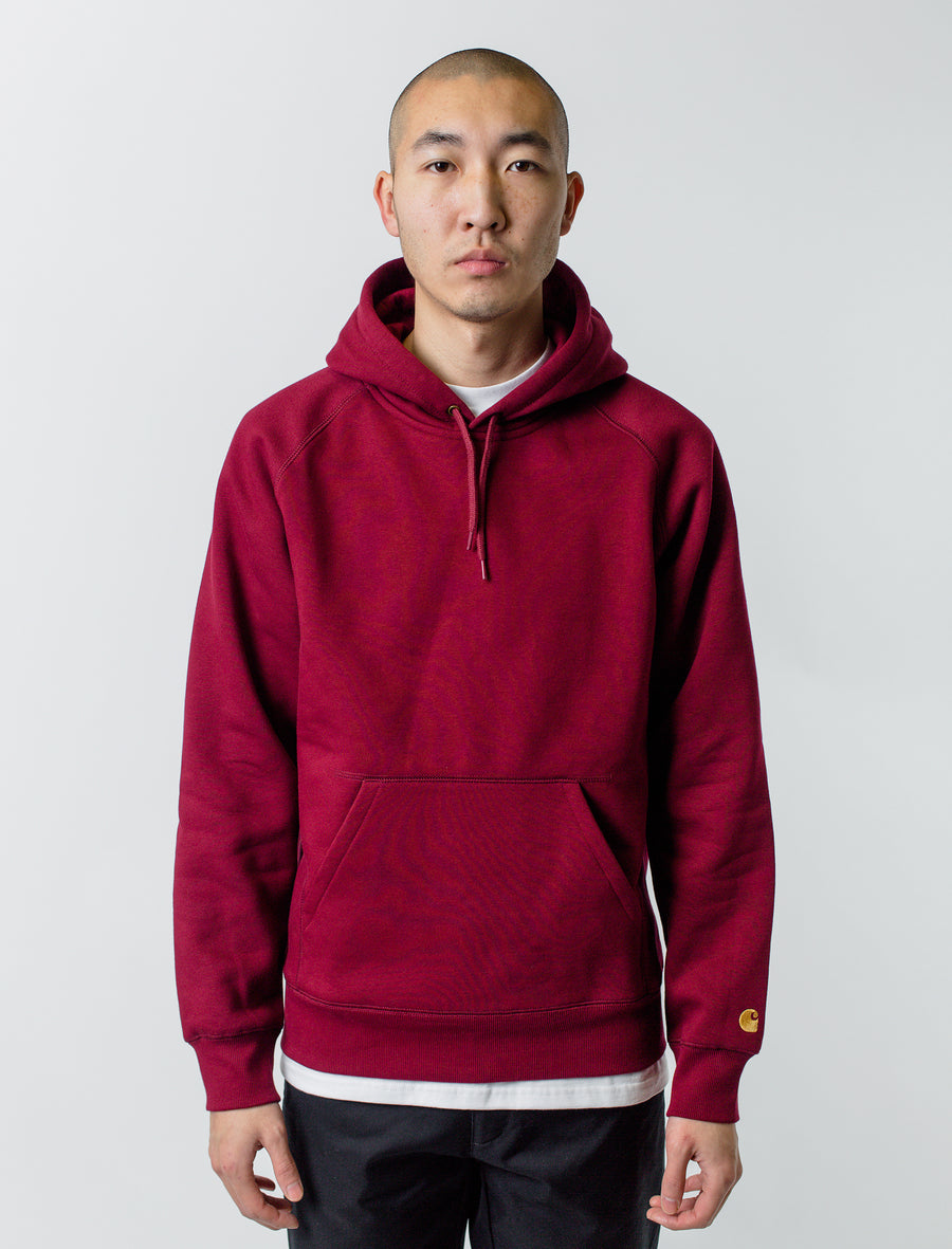 Carhartt WIP Chase Hoodie Cranberry