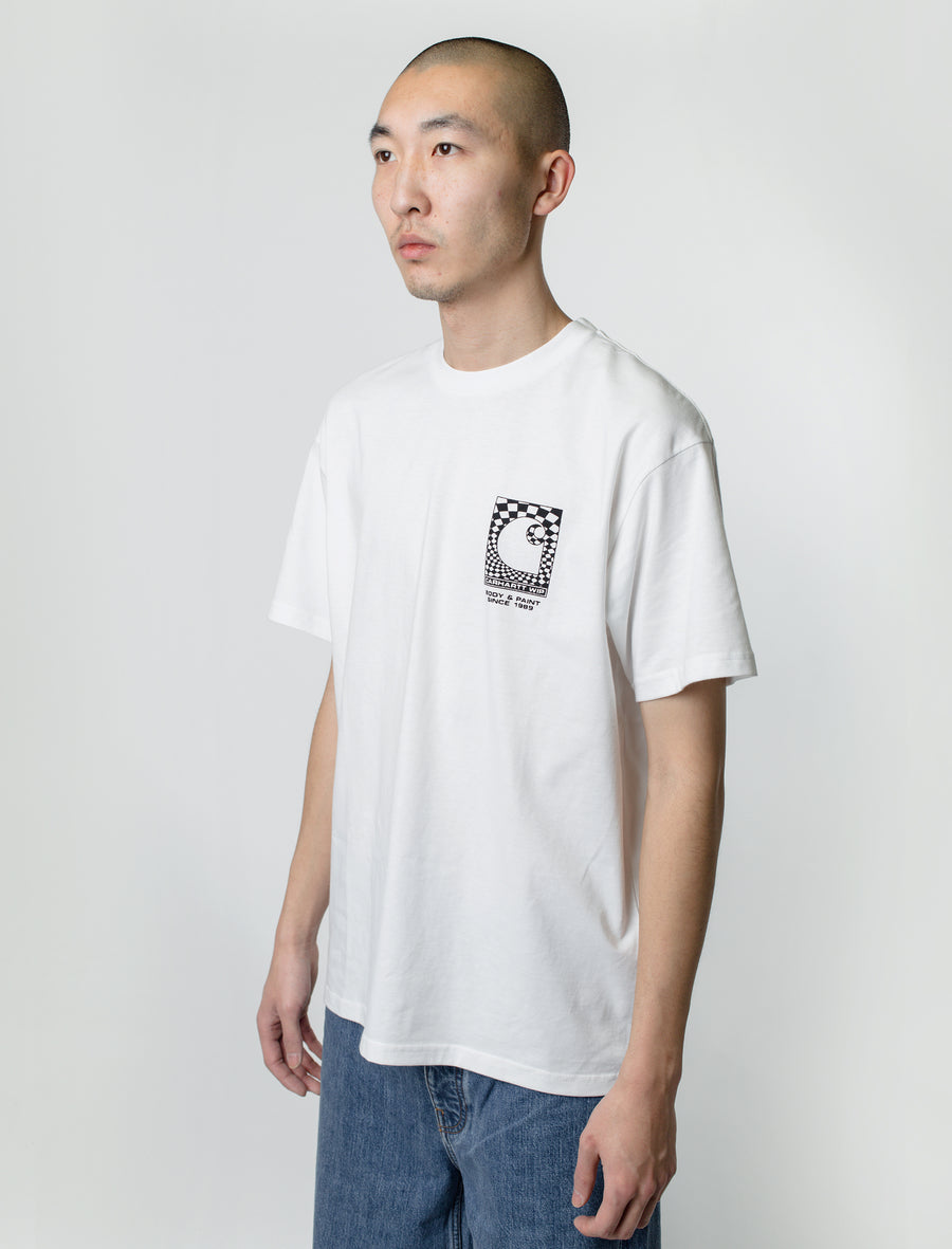 Carhartt WIP S/S Body & Paint Tee White