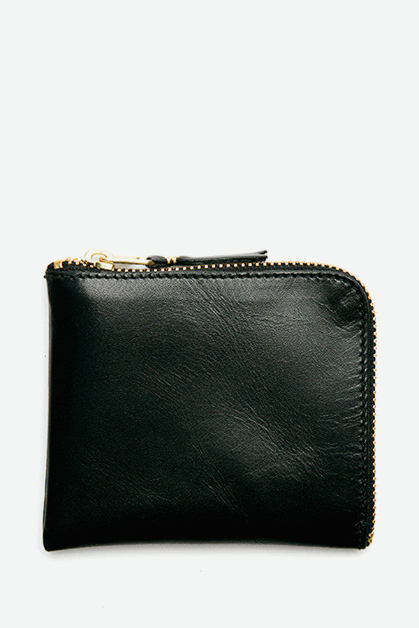 2-Sided Zip Wallet Black