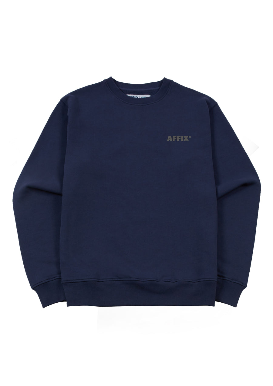 Basic Crewneck Sweater Navy