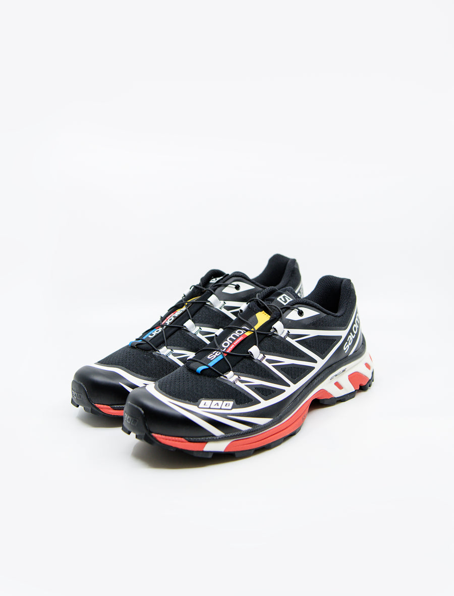 Salomon SLAB XT-6 LT ADV Black/Vanilla Ice/Racing Red