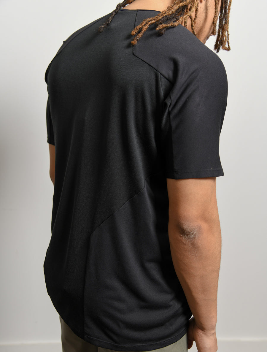 Cevian Composite Short Sleeve Tee Black