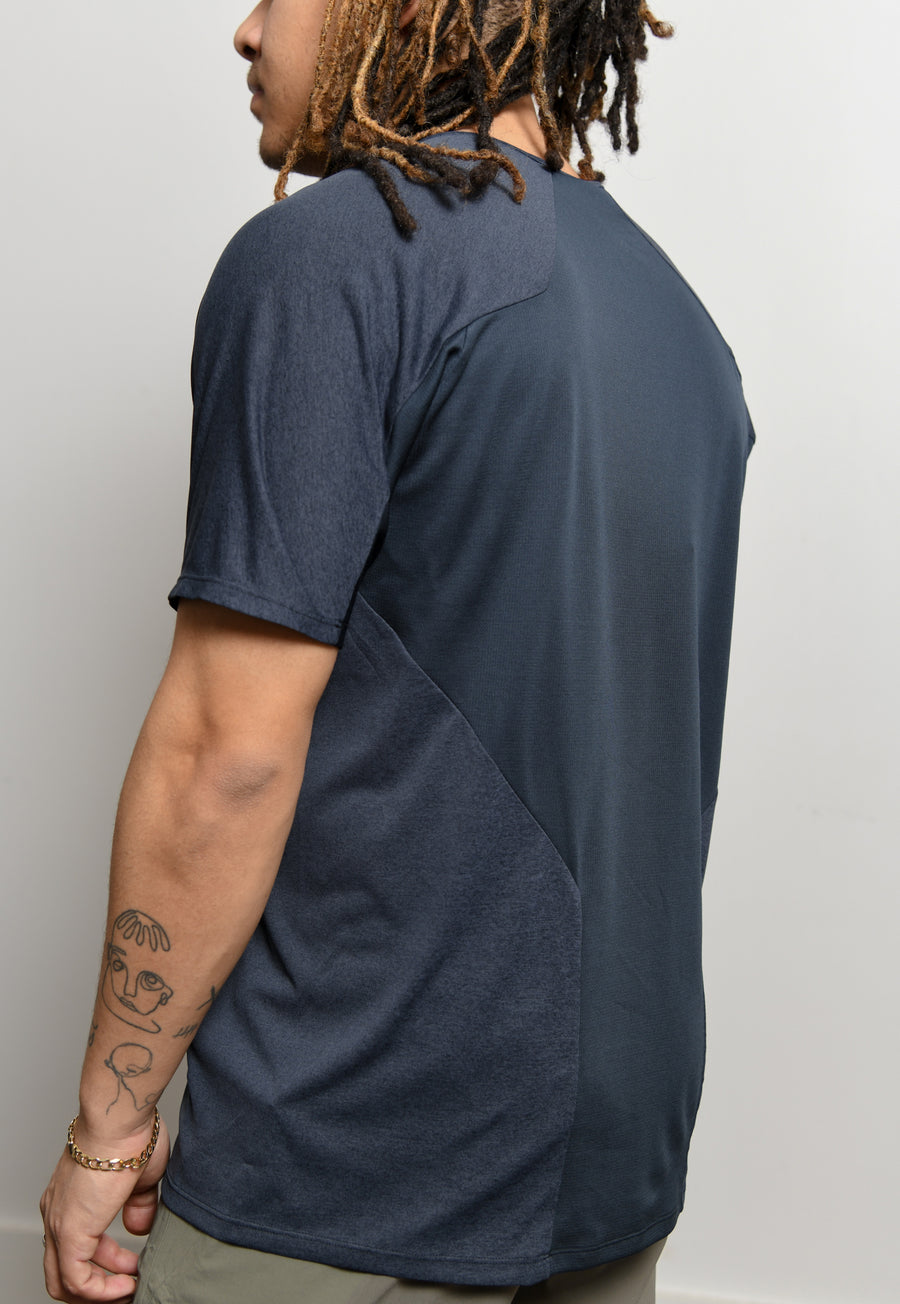 Cevian Composite Short Sleeve Tee Dark Navy