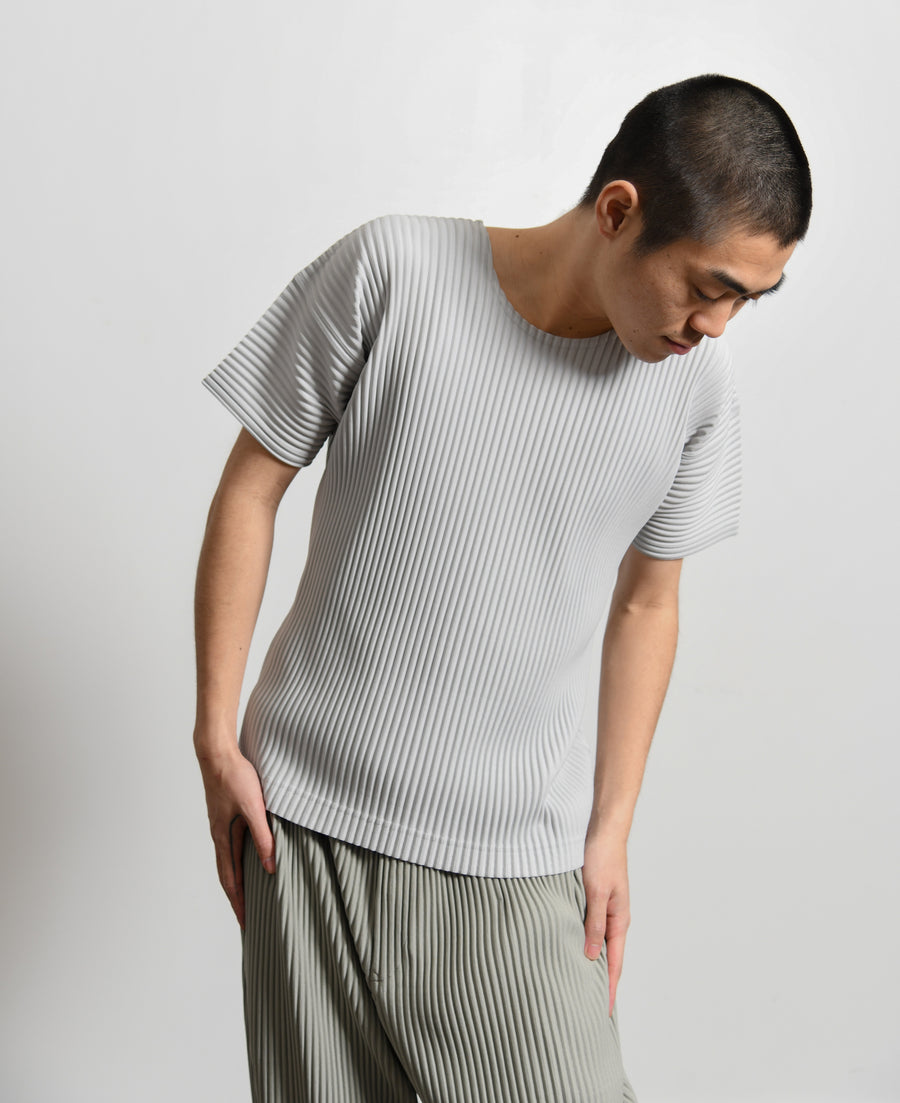 Basics Short Sleeve Tee Light Grey JK020