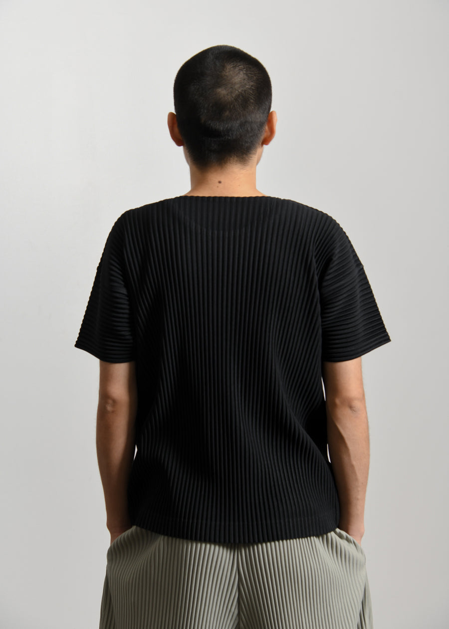 Basics Short Sleeve Tee Black JK020