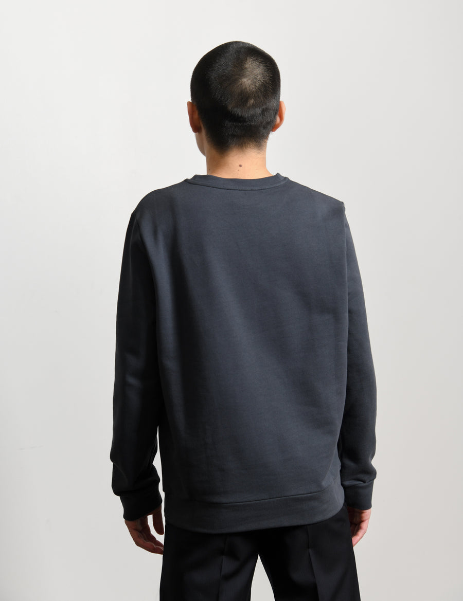 Label H Crewneck Sweater Anthracite