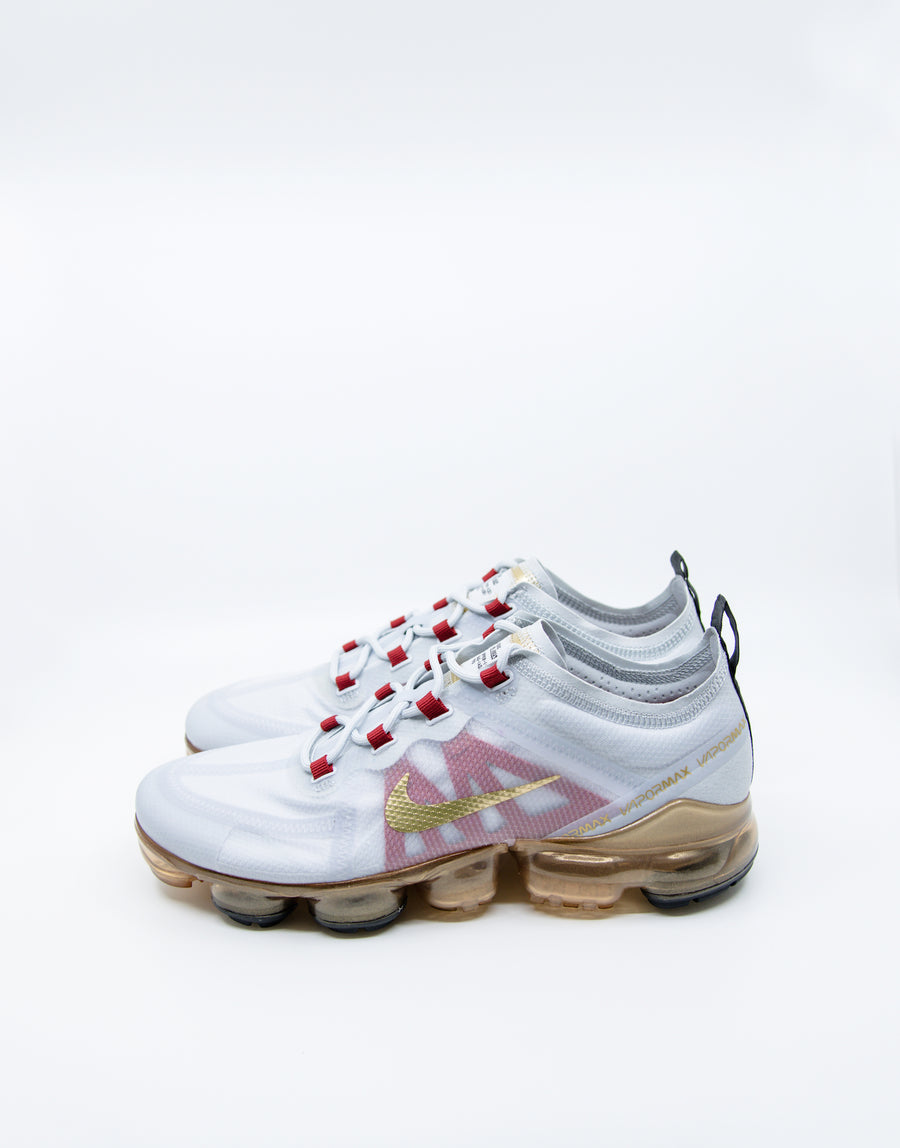 Nike Air Vapormax 2019 CNY Pure Platinum/Metallic Gold