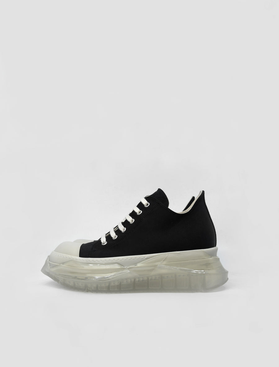 Abstract Sneaker Black/White/Transparent