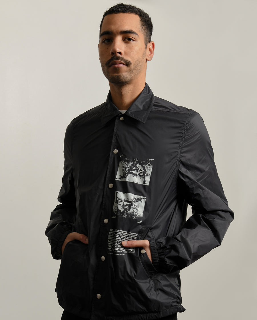 Snapfront Jacket Black
